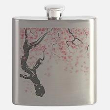Japanese Cherry Tree Flask