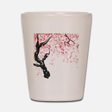 Japanese Cherry Tree Shot Glass