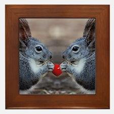 Heart017 Framed Tile