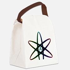 Dark Rainbow Atheist  Canvas Lunch Bag