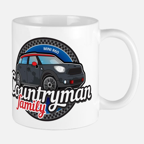 MINI Countryman family Mugs