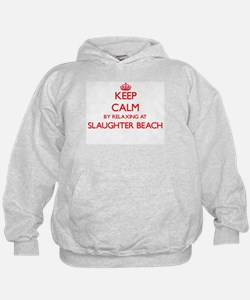 Keep calm by relaxing at Slaughter Bea Hoodie