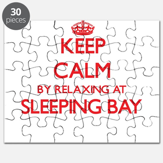Keep calm by relaxing at Sleeping Bay Michi Puzzle