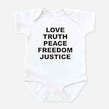 L.t.p.f.j. Light Color Infant Body Suit