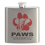 Paws Logo - Flask