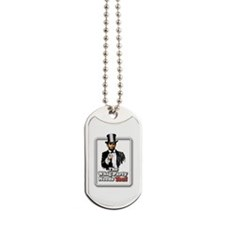 President Lincol asks Dog Tags