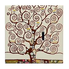 Unique Tree of life Tile Coaster