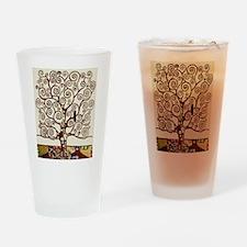 Cute Klimt Drinking Glass