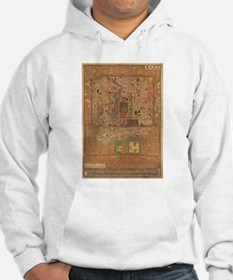 Vintage Map of Beijing China (19 Jumper Hoody