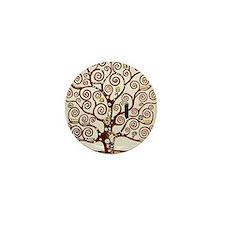 Cute Tree life Mini Button