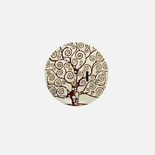 Cute Tree Mini Button