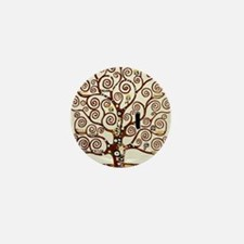 Cute Klimt Mini Button