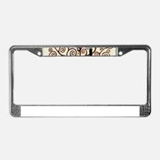 Cute Tree of life License Plate Frame