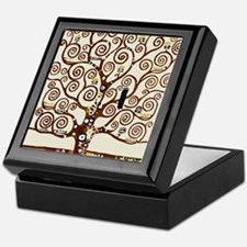 Klimt tree of life Keepsake Box