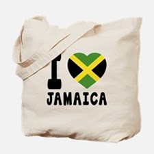 I Love Jamaica Tote Bag