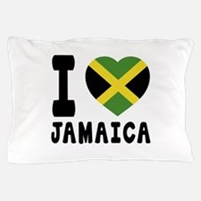 I Love Jamaica Pillow Case