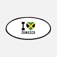 I Love Jamaica Patch