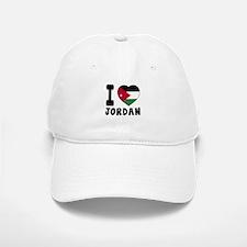 I Love Jordan Baseball Baseball Cap