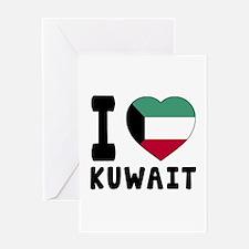 I Love Kuwait Greeting Card