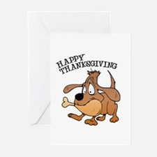 Happy Thanksgiving Dog Greeting Cards (Pk of 20)