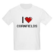 I love Cornfields digital design T-Shirt