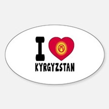 I Love Kyrgyzstan Decal
