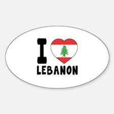I Love Lebanon Decal