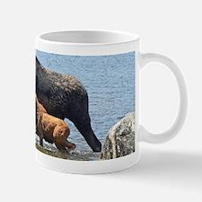 Cow & Calf Moose Mug