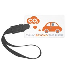 Think Beyond The Pump Luggage Tag
