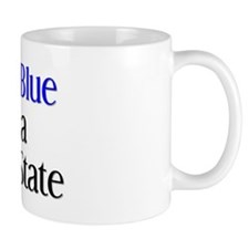 Unique Blue states Mug