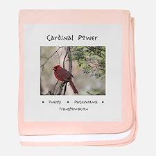 Cardinal Animal Medicine Gifts baby blanket