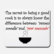 Menudo Secret 2 (White) Mousepad