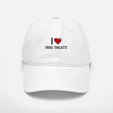I love Dog Treats digital design Baseball Baseball Cap