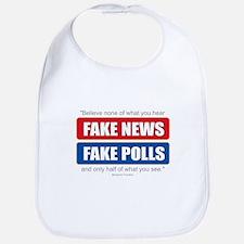 Fake News - Franklin Quote Baby Bib
