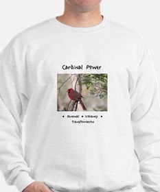 Red Cardinal Totem Jumper