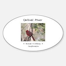 Red Cardinal Totem Decal