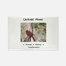 Red Cardinal Totem Magnets