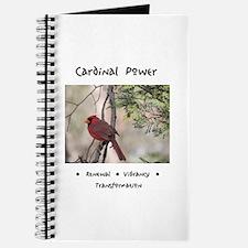 Red Cardinal Totem Journal