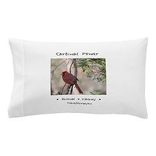 Red Cardinal Totem Pillow Case