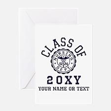 Class of 20?? Nursing Greeting Card