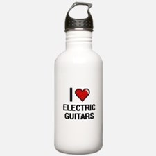 I love Electric Guitar Water Bottle