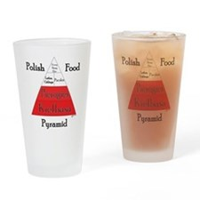 Polish Food Pyramid Pint Glass
