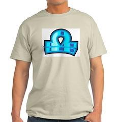 Libra Ash Grey T-Shirt