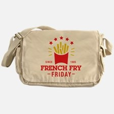 French Fry Friday Messenger Bag