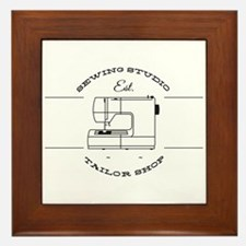 Sewing Studio Framed Tile