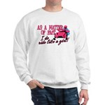 Ride Like a Girl - Snowmobile Sweatshirt