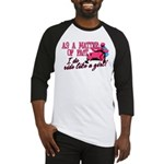 Ride Like a Girl - Snowmobile Baseball Jersey