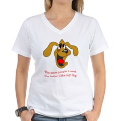 People vs. Dog Shirt