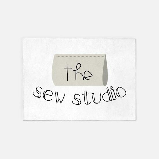The Sew Studio 5'x7'Area Rug