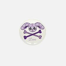 Bunny Crossbones Mini Button (10 pack)
